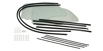 VW Bug-Super Beetle 1pc. Window Kits