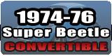 Super Beetle Convertible 1974-76