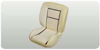 Contoured Front Sport Seat Foam