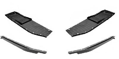 VW Support Rails & Floor Pans