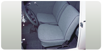 Euro Low Back Seat Upholstery