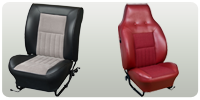 Sport Contoured Seat Upholstery