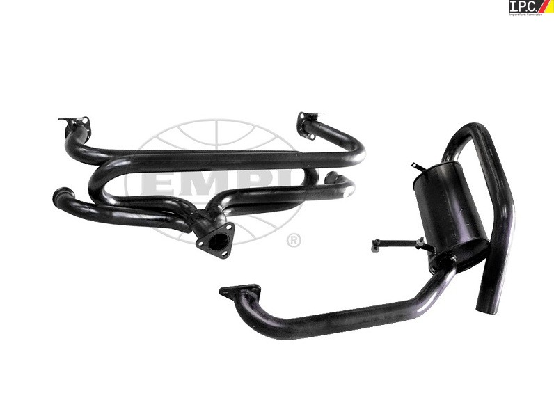 Empi High Mount Exhaust Kit Hideaway: Empi Vw Exhaust At Woreks.co