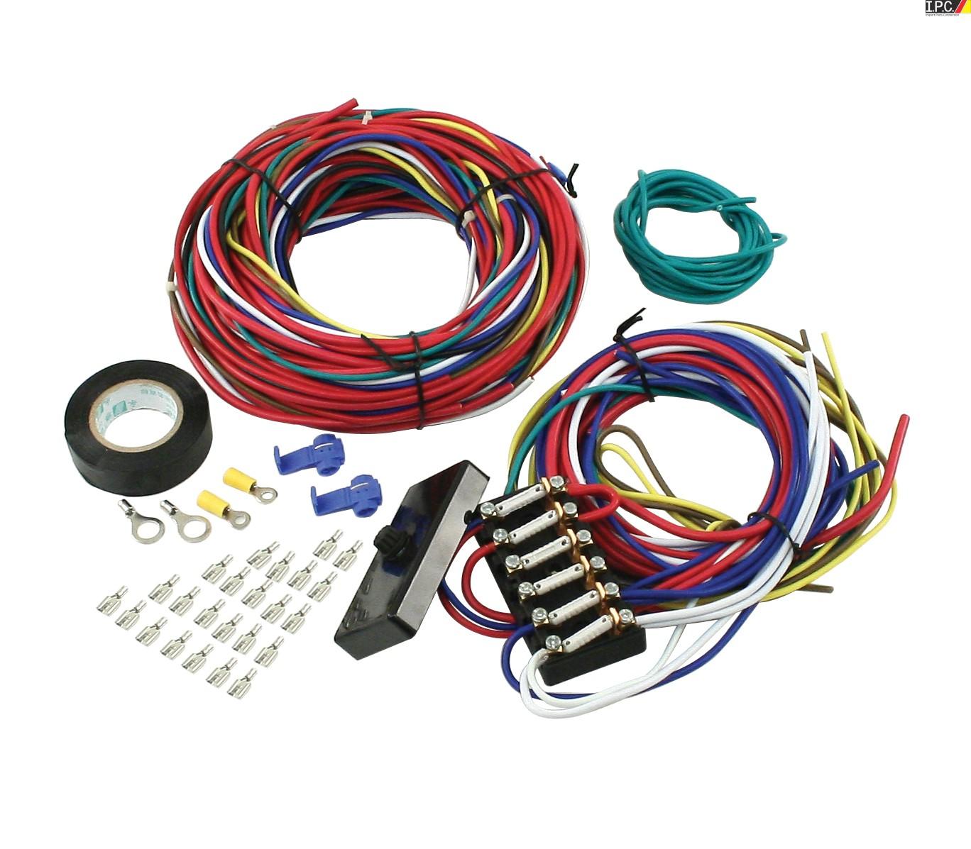 Empi Universal Wire Harness W Fuse Box Ipc Vw Parts Bug Auto