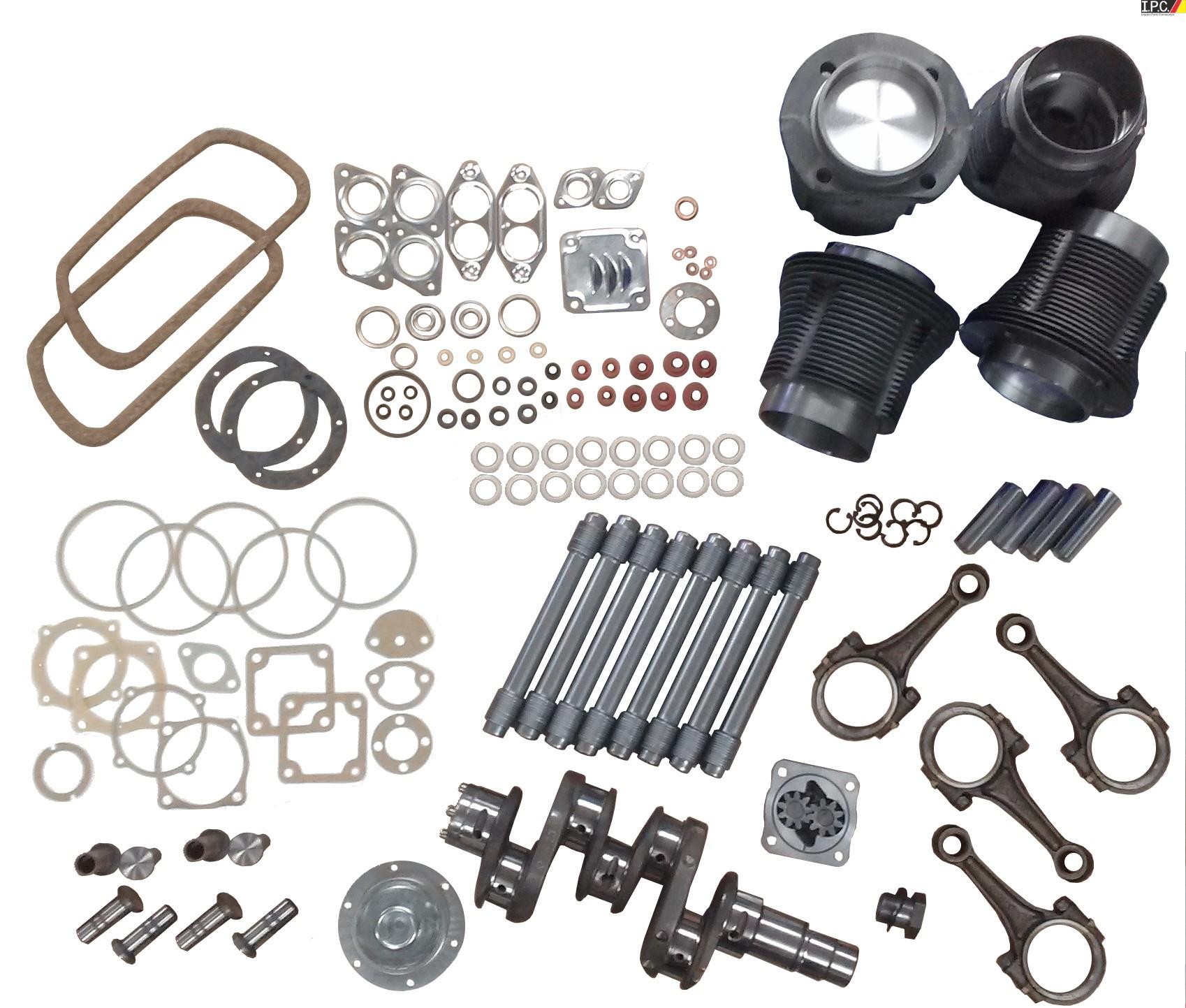 Vw 1600 Connecting Rods: Engine Rebuild Kit For 1600cc Engines. I.P.C. VW Parts, VW