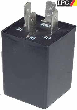 Turn Signal Flasher Relay 12 Volt 4 Prong IPC VW Parts VW Bug