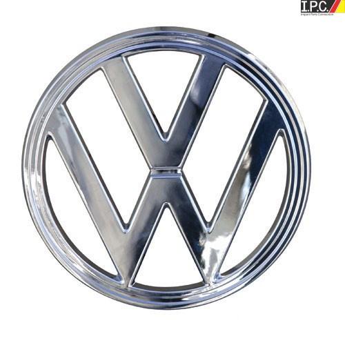 vw nose emblem chrome steel 10 vw emblems vw body parts i p c vw parts vw bug parts and