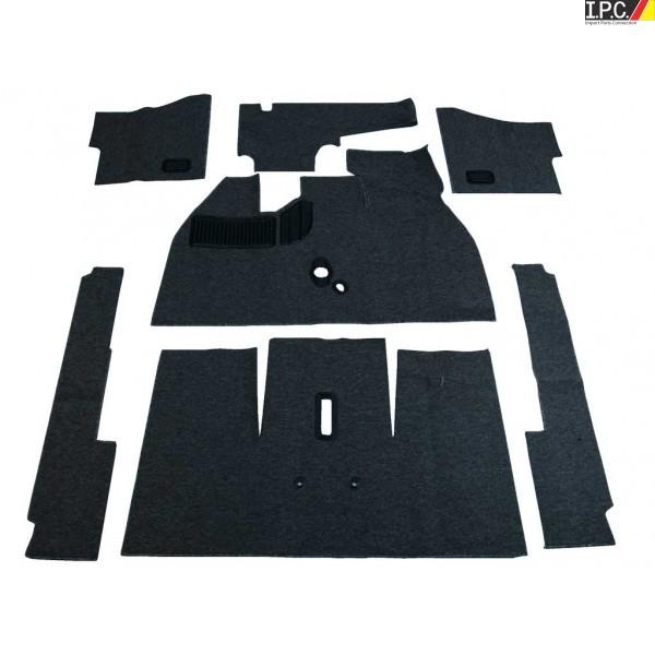 Deluxe VW Carpet Kit W/Grommets 11pc  (Without Footrest