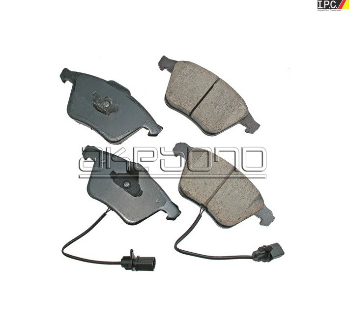 AUDI Front Disc Brake Pad - Akebono Euro - AUDI Parts I P C