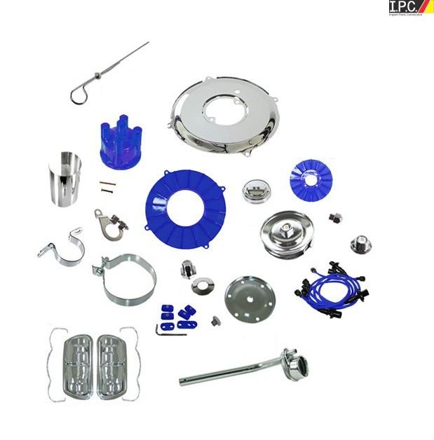 Vw Beetle Engine Builders: VW Bug, Ghia, Bus Super Chrome & Color-Deluxe Engine Kit