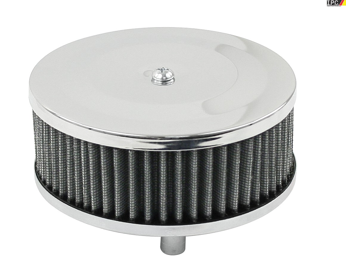 12 Round Air Cleaner : Empi round chrome air cleaner quot diameter high flow i