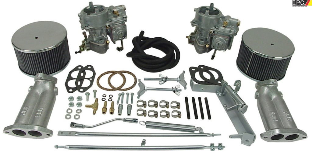 EMPI 40MM Dual Brosol/Solex Type 1 carb  Kit I P C  VW Parts