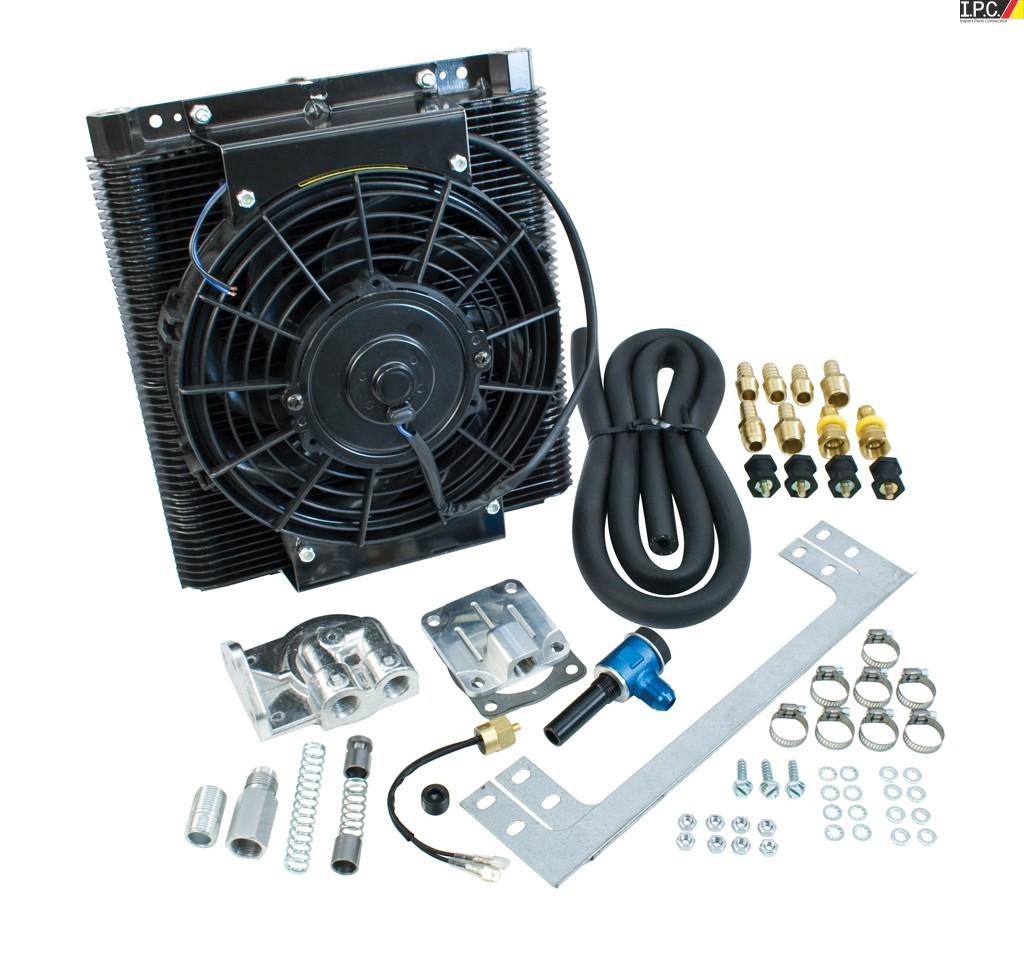 empi bolt-on oil cooler fan kit