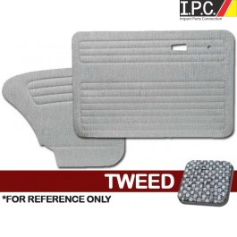 VW Bug 1967-1977 Sedan Door Panel Set w/o Pockets - Tweed