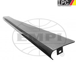 Polished Rib/Black Edge EMPI Billet Aluminum Running Boards