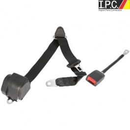 Universal 3-Point Retractable Seat Belt European Style Shoulder Belt With Hardware
