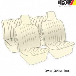 VW Original Seat Upholstery,  (Fronts & Rear) 1970-72 VW Bug Sedan