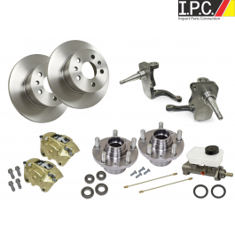 EMPI Bus Drop Spindle Disc Brake Conversion Kit - VW Brake Parts