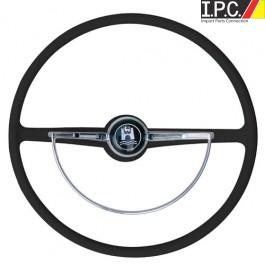 VW Bug, Ghia, Type 3 1962-1971 Classic-Style Steering Wheel (Black)