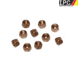Copper Exhaust Nuts Qty. 8