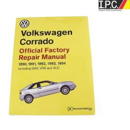 vw corrado 1990 1994 official factory repair manual i p c vw parts rh ipconlinestore com Volkswagen Vanagon Volkswagen Cabrio