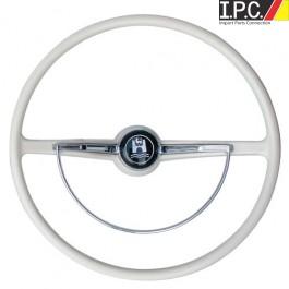VW Bug, Ghia, Type 3 1962-1971 Classic-Style Steering Wheel (Grey)
