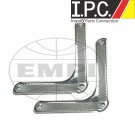 VW Bug, Super Beetle Door Corner Trim Set , Stainless Steel (PR)