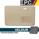 VW Bug 1967-1977 Front Only Door Panels w/ Pockets - Velour