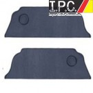 VW Bug 1963-1977 Sedan Rear Kick Panels - Vinyl