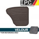 VW Rear Only Panels, ( Velour ) 1956-1964 VW Bug Sedan
