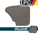 VW Rear Only Panels, ( Velour ) 1967-1977 VW Bug Sedan