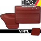 VW Bug 1956-1964 Sedan Door Panel Set w/o Pockets - Vinyl