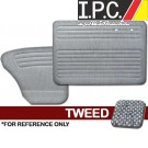VW Bug 1956-1964 Sedan Door Panel Set w/o Pockets - Tweed