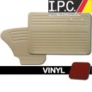 VW Bug 1965-1966 Sedan Door Panel Set w/o Pockets - Vinyl