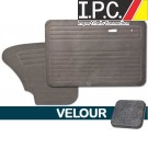 VW Bug 1967-1977 Sedan Door Panel Set w/out Pockets - Velour