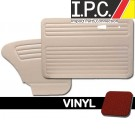 VW Bug 1967-1977 Sedan Door Panel Set w/o Pockets - Vinyl