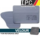 VW Bug 1956-1964 Sedan Door Panel Set w/ Pockets - Velour