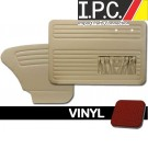 VW Bug 1965-1966 Sedan Door Panel Set w/ Pockets - Vinyl