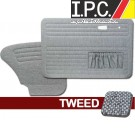 VW Bug 1967-1977 Sedan Door Panel Set w/ Pockets - Tweed
