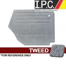 VW Bug 1965-1972 Convertible Rear Only Panel Set - Tweed