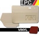 VW Bug 1956-1964 Convertible Door Panel Set w/ Pockets - Vinyl