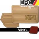 VW Bug 1967-1972 Convertible Door Panel Set w/ Pockets - Vinyl