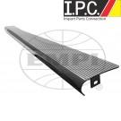 Polished Rib/Black Edge EMPI Billet Aluminum Running Boards