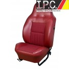 VW Sport Contoured Seat Upholstery, (Fronts & Rear) 1970-72 VW Bug Sedan