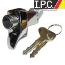 VW Bus Chrome Decklid Lock W/Keys