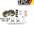 EMPI Zero Off-Set Wide 5 Rear Disc Brake Kit w/ Emergency Brake Swing Axle 1958-1967