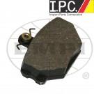 EMPI Front Disc Brake Pads (4)