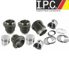 Piston and Cylinder Set 85.5mm for 1600cc (MORESA)