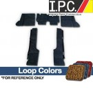 VW Carpet Kit 5pc. (Use W/Rubber Mats) 1969-72 VW Bug Sedan