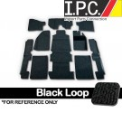 VW RHD Carpet Kit 10pc. (Without Footrest) 1973-78 VW Bug Sedan